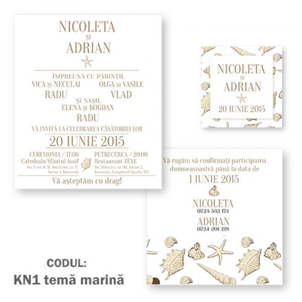 Invitatie Nunta Kn1 Kraft